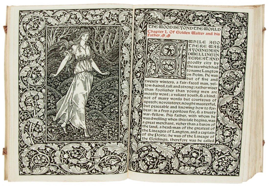 Kelmscott Press.- Morris (William) - The Wood Beyond