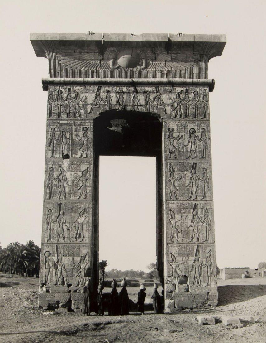 ] An album of 151 mounted black & white photographs,