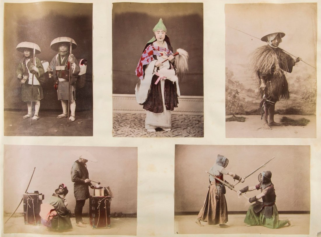 -. Sino-Japanese War.- - An album of c.180 albumen