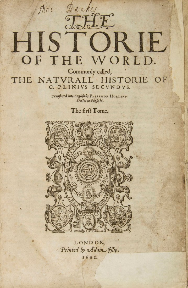 The Historie of the World…, translated by Philemon