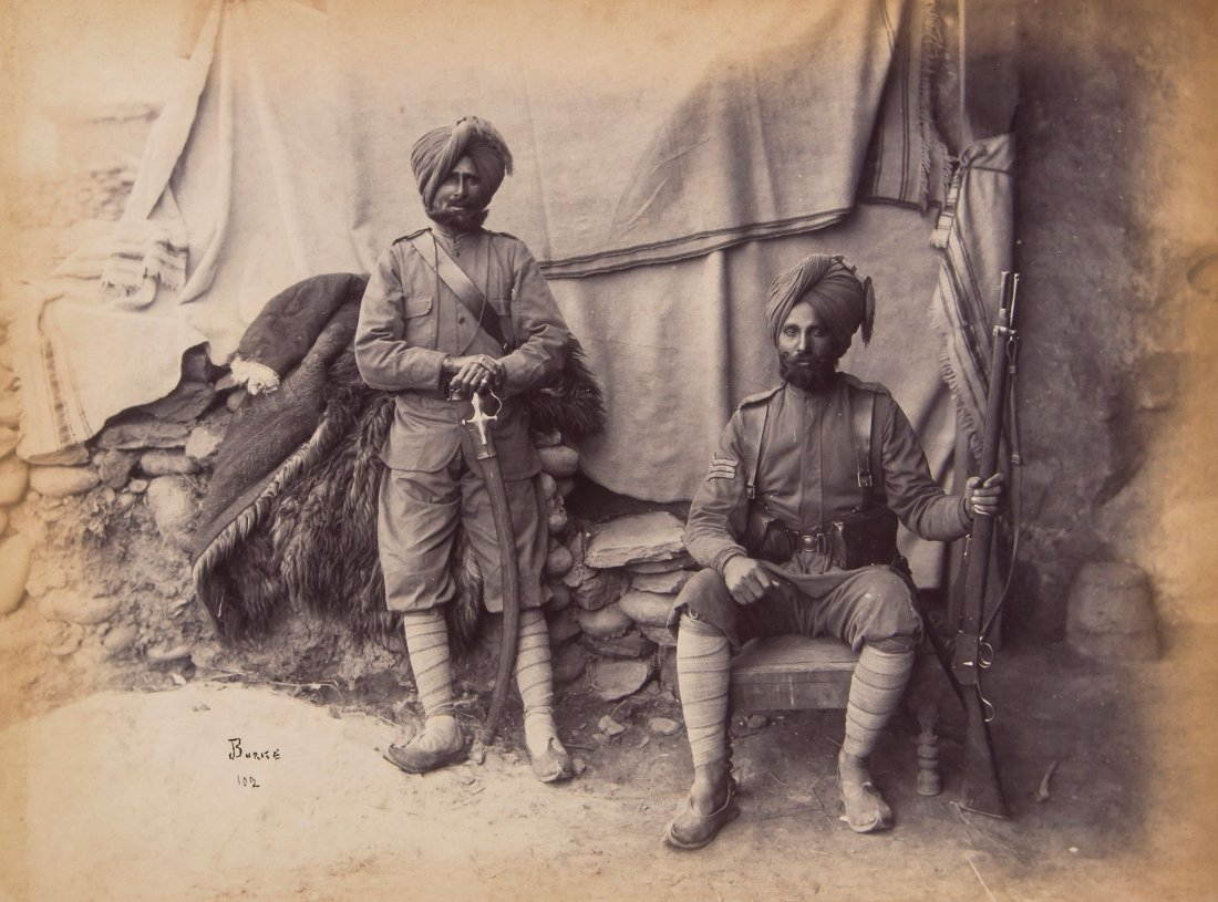 John Burke  (1843-1900) and others - Asia, 1880s -