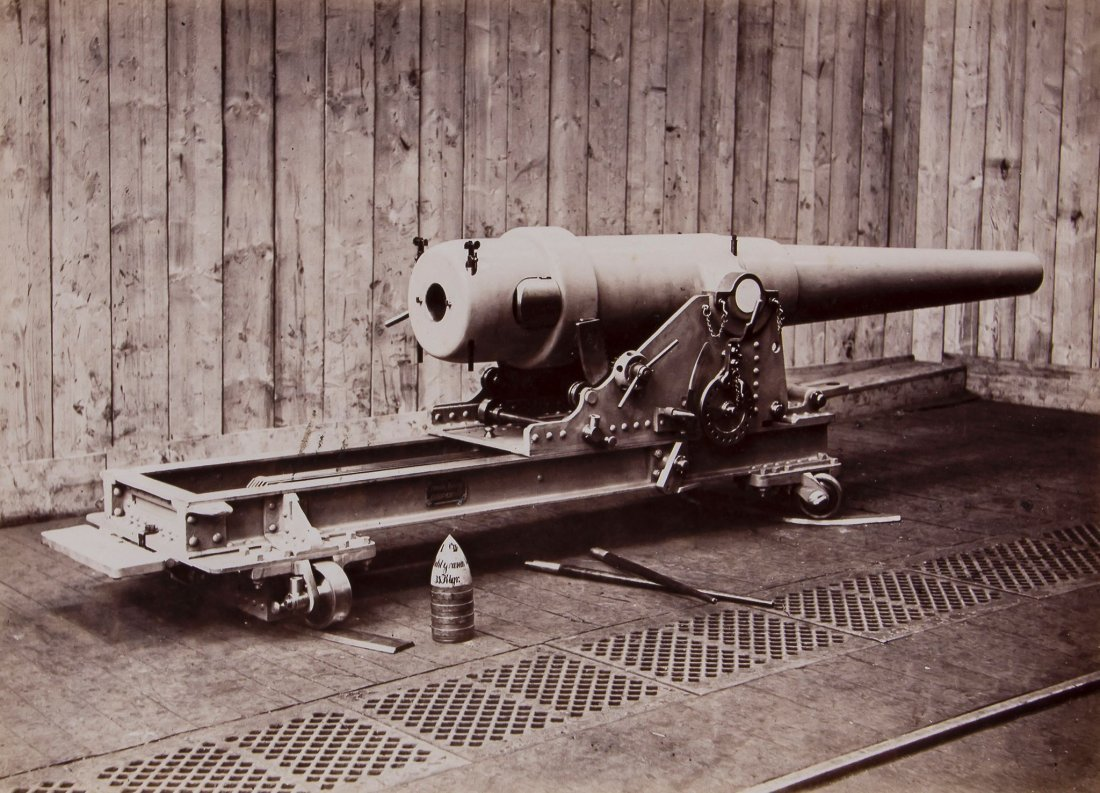 Alfred Krupp (1812-1887) - 15cm Kanone in