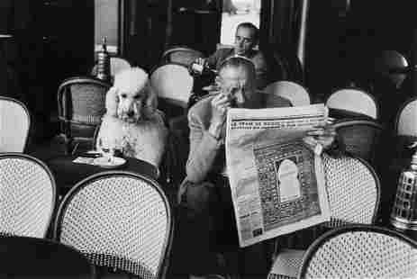 Edouard Boubat (1923-1999) - Café de Flore, Saint