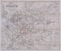 A small mixed group of European war maps,
