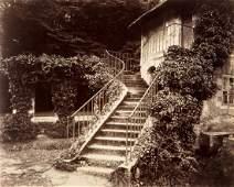 Eugene Atget (1857-1929) - Petit Trianon, (Versailles),
