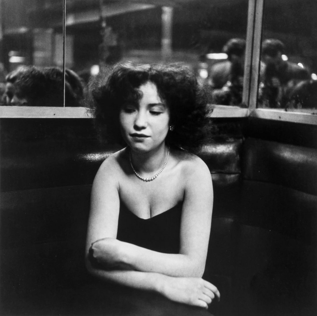 Robert Doisneau (1912-1994) - Mademoiselle Anita, 1951