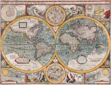 Speed (John) - A New and Accurat Map of the World,