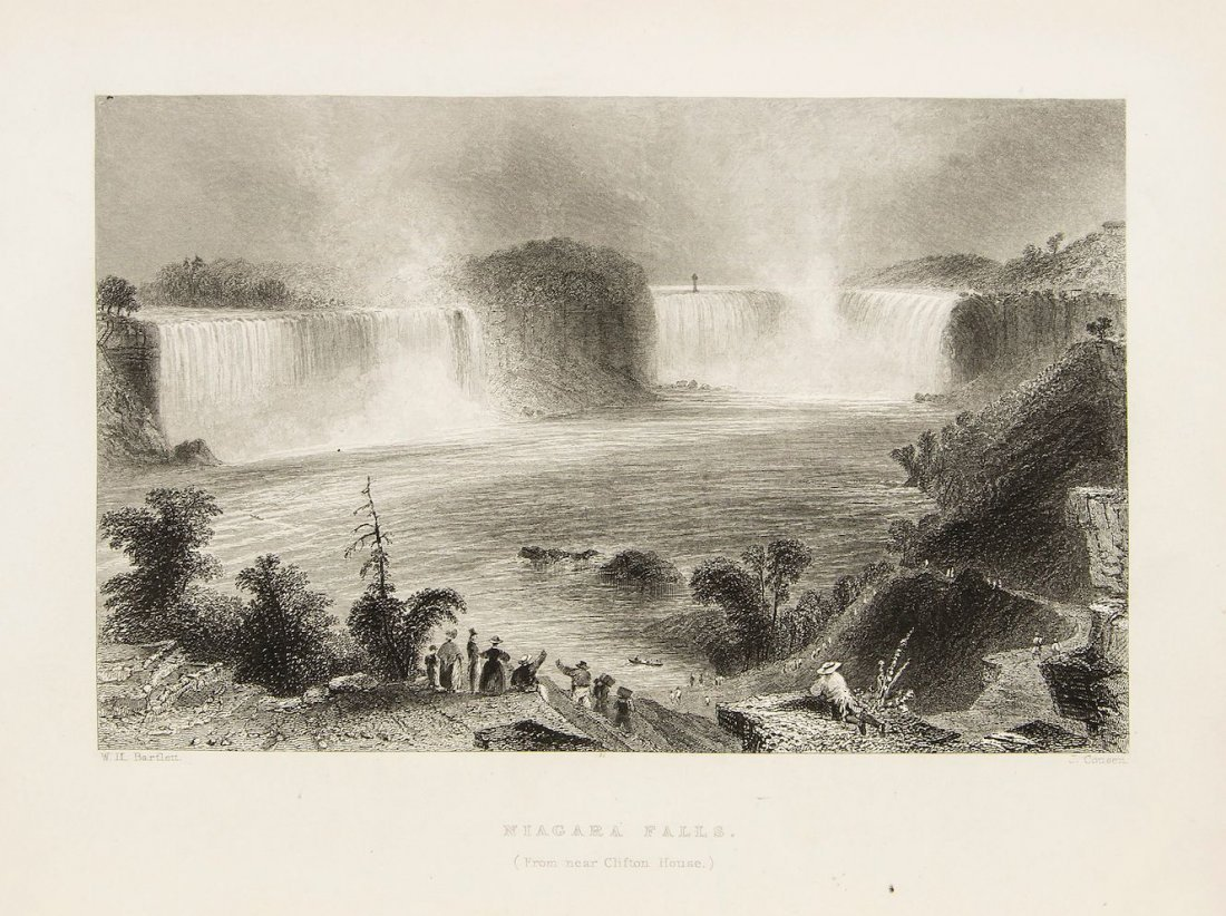 America.- Willis (Nathaniel Parker) - American Scenery,