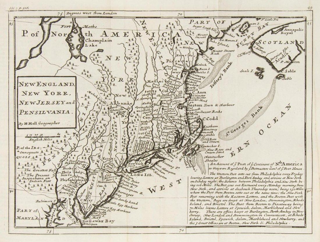 Atlases.- Salmon (Thomas) - Modern History: or, the