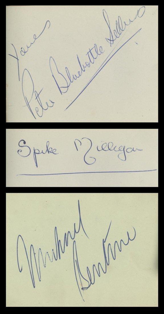 COL A small autograph album, c. 1950s, including