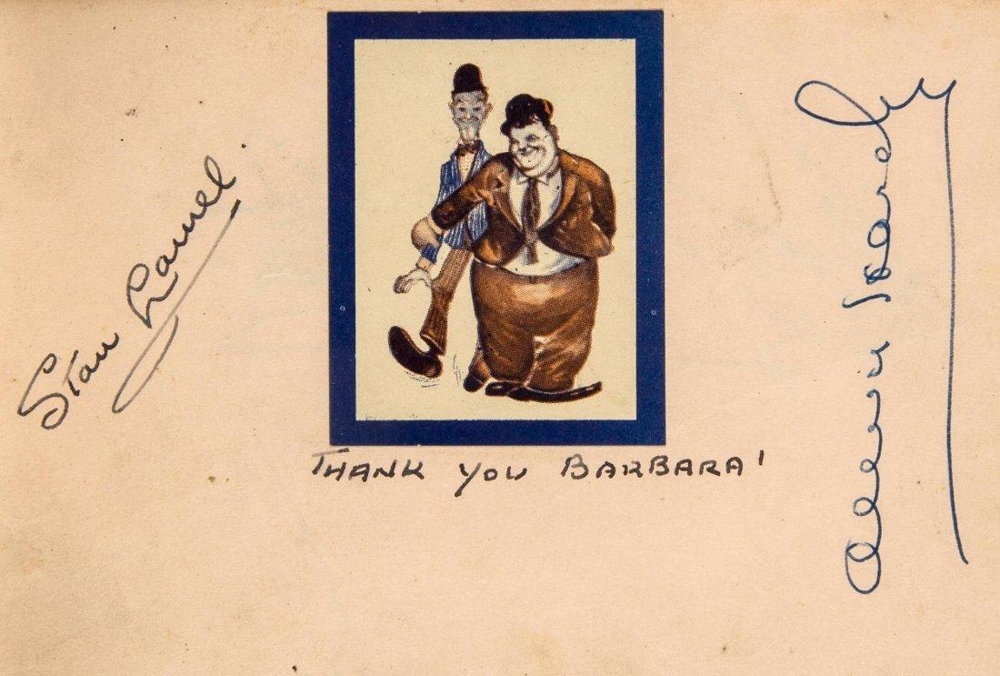 COL Two c.1950s autograph albums, approx. 10 x 15cm & 9