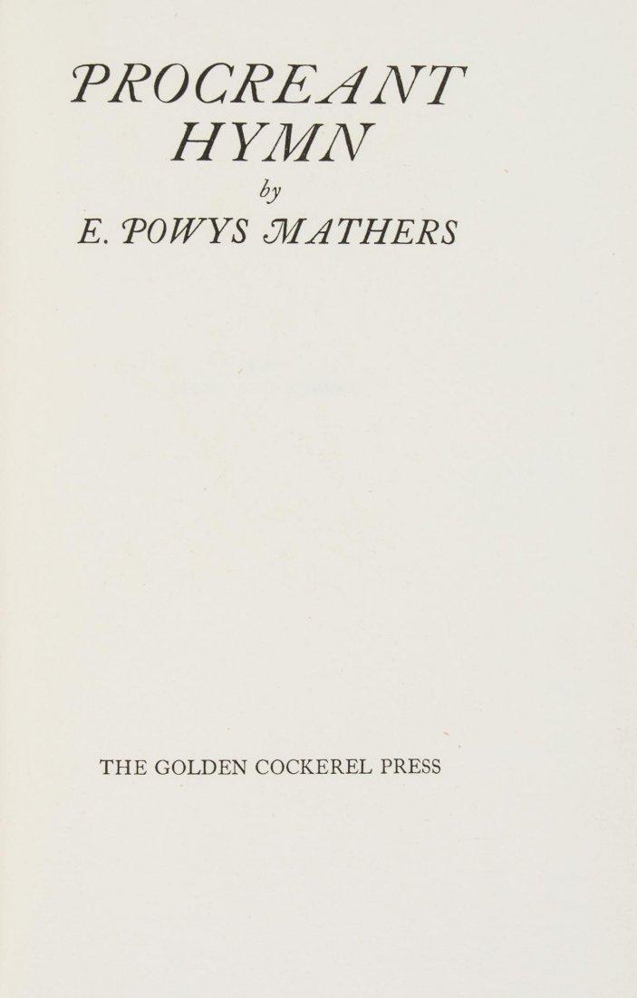 Mathers (E.Powys) - Procreant Hymn, - 3