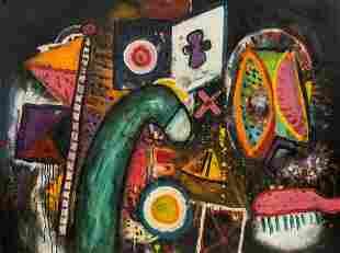 Alan Davie (1920-2014) - Toothbrush No.4, 1973