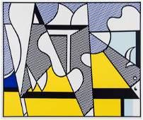 Roy Lichtenstein (1923-1997) - Cow Going Abstract