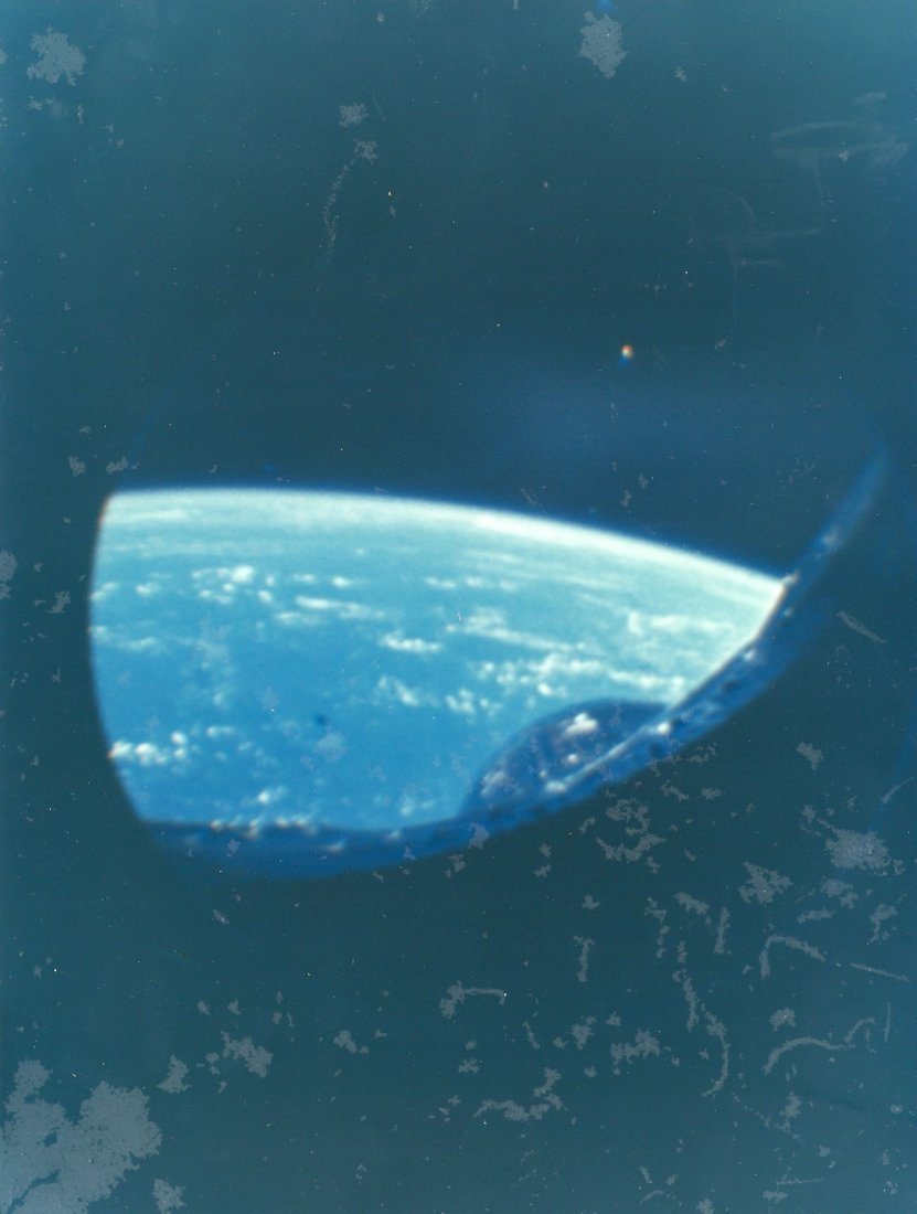 Views of Earth and Space from the unmanned Gemini 2