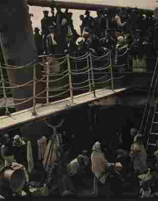 Alfred Stieglitz (1864-1946) - The Steerage, 1907