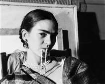 Lucienne Bloch 19091999  Frida Kahlo New York