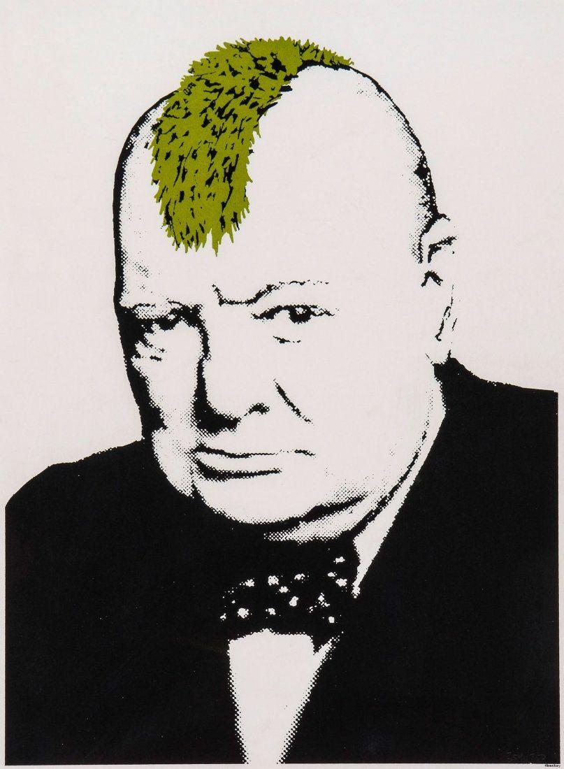 Banksy (b.1974) - Turf War