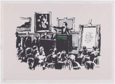 Banksy (b.1974) - Morons