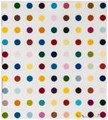 Damien Hirst (b.1965) - Opium (Spot Print)