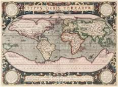 Ortelius (Abraham) - Typus Orbis Terrarum,