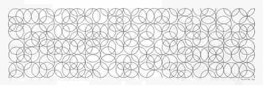 Bridget Riley (b.1931) - Composition with Circles 2