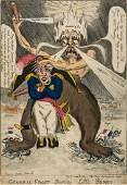 Elmes (William) - A group of 3 satires on Napoleon's