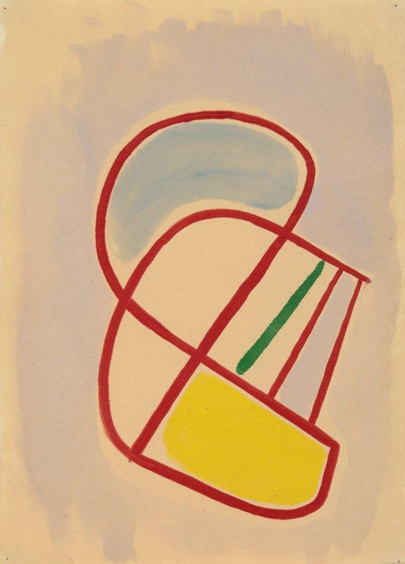Alistair Morton (1910-1963) - Abstract Composition