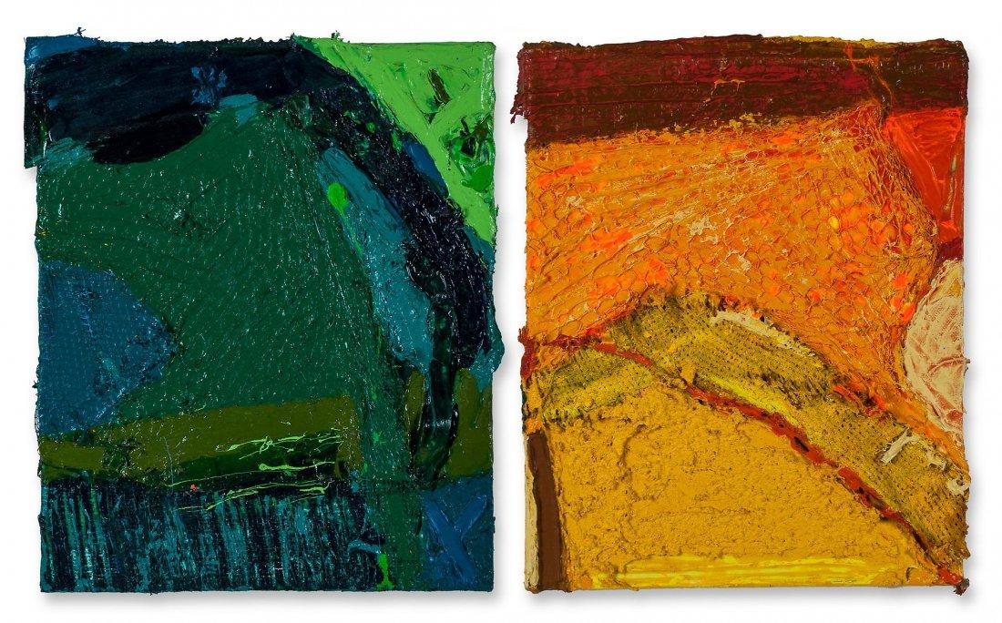 Anthony Frost (b.1951) - Green Rush (Yellow Shade) &