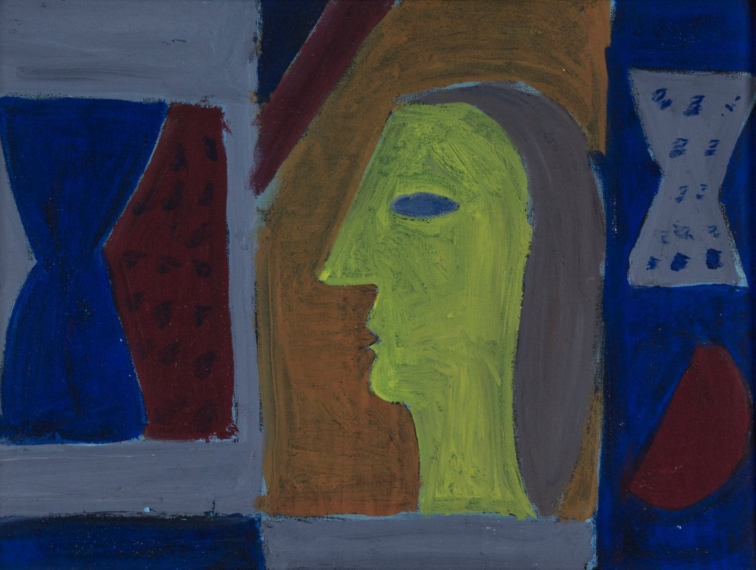 Breon O'Casey (1928-2011) - Untitled (Female Head)