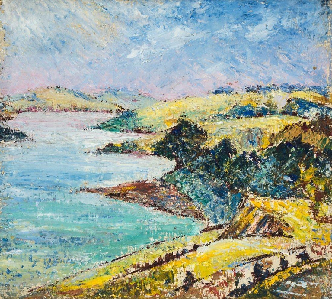 Cyril Power (1872-1951) - Coastal Scene I, c1943