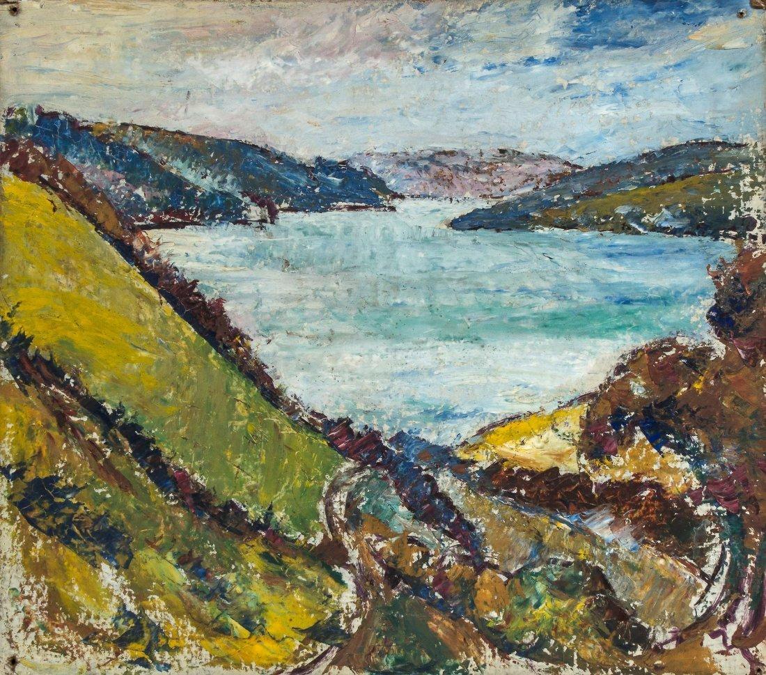 Cyril Power (1872-1951) - Coastal Scene, c1943