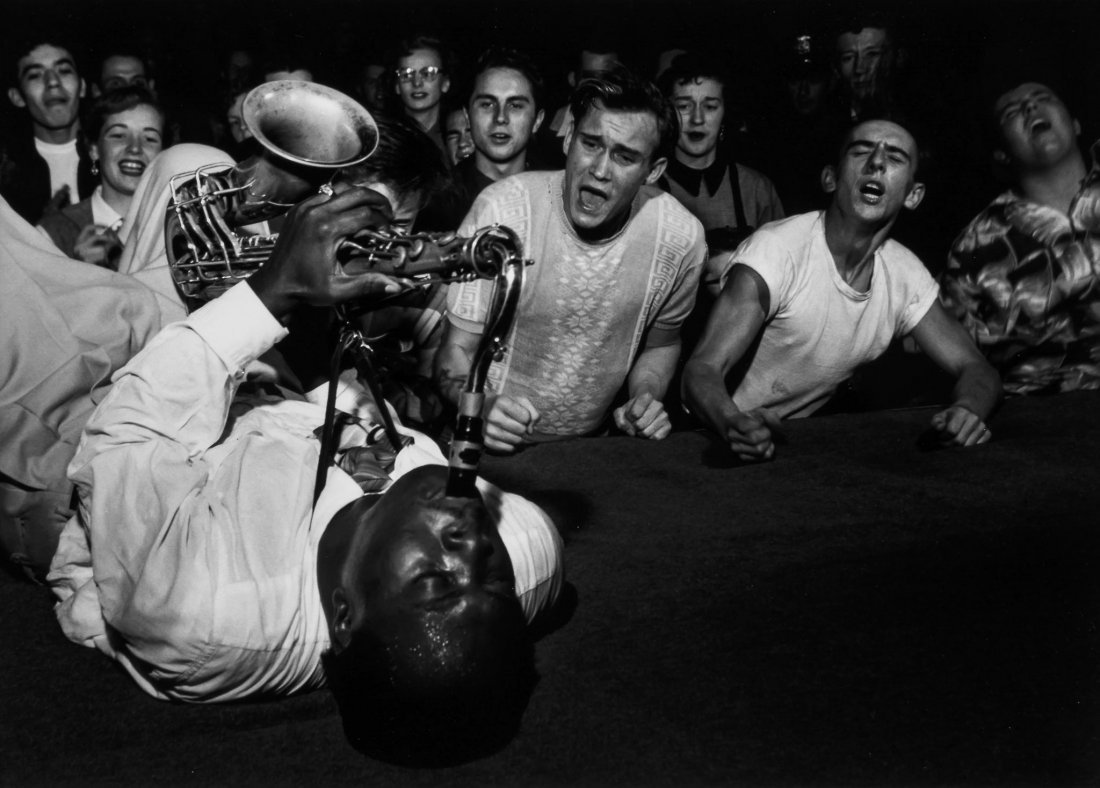 Bob Willoughby (1927-2009) - Big Jay McNeely, 1951
