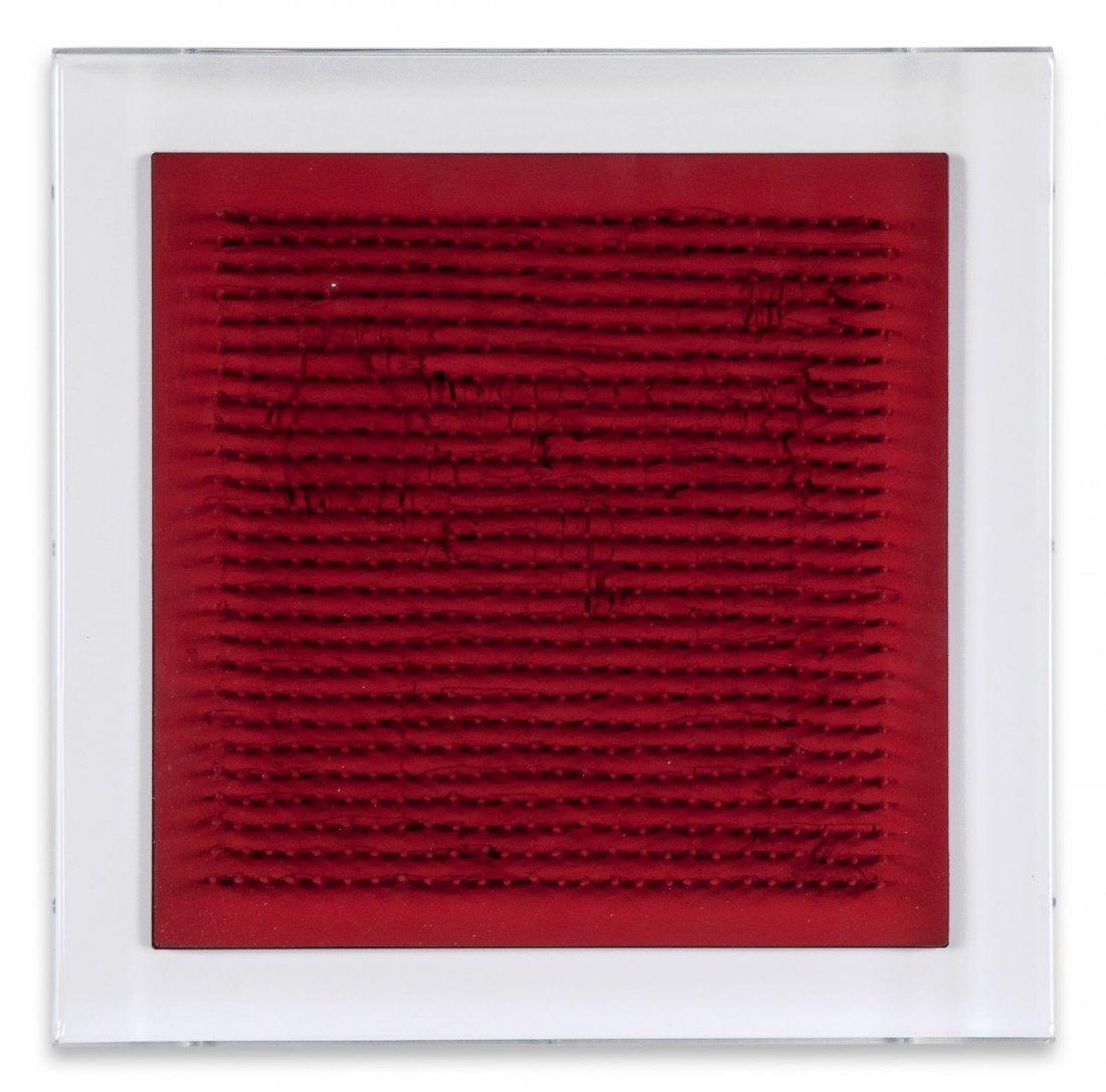Bernard Aubertin (b.1934) - Untitled (Tableau Clous)