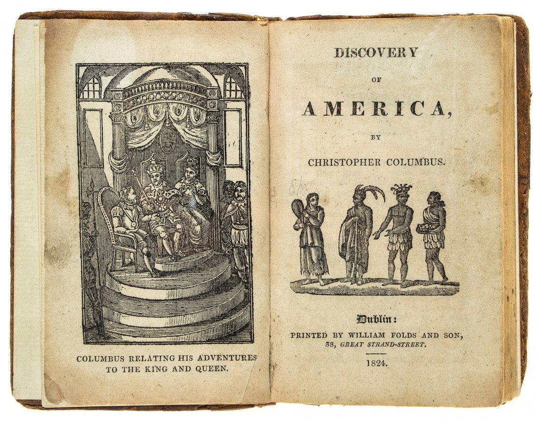 America.- Irving (Washington) - Voyages and Discoveries