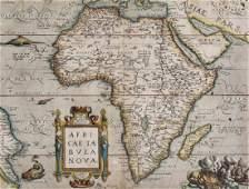 -. Ortelius (Abraham) - Africae Tabula Nova,