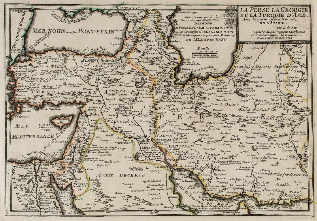 Middle East.- de Fer (Nicolas) - La Perse, La Georgie