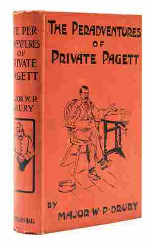 Drury (W.P.) - The Peradventures of Private Pagett,