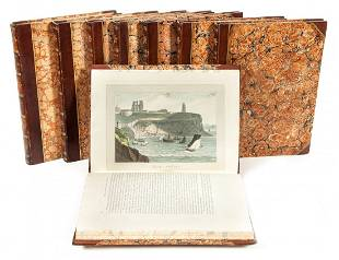 Daniell (William) - A Voyage round Great Britain,