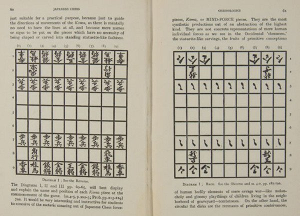 16C: Cho-Yo Japanese Chess, limited edition, 1905