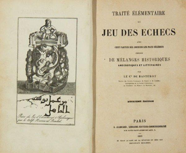 20C: De Basterot: Jeu des Echecs, 1863