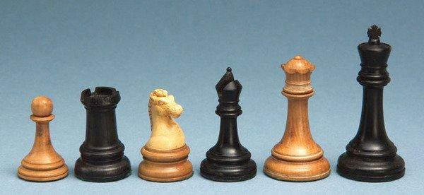 153C: A British Chess Company chess set, c. 1900