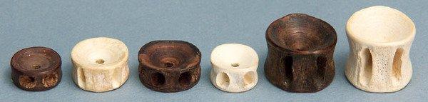 279C: An unusual Tribal fish bone chess set