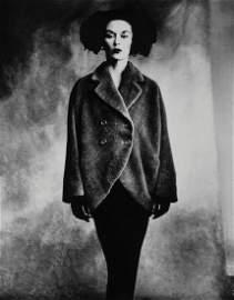 Irving Penn (1917-2009) - Woman in Balenciaga Coat
