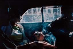 Nan Goldin (b.1953) - Smoky Car, New Hampshire, 1979