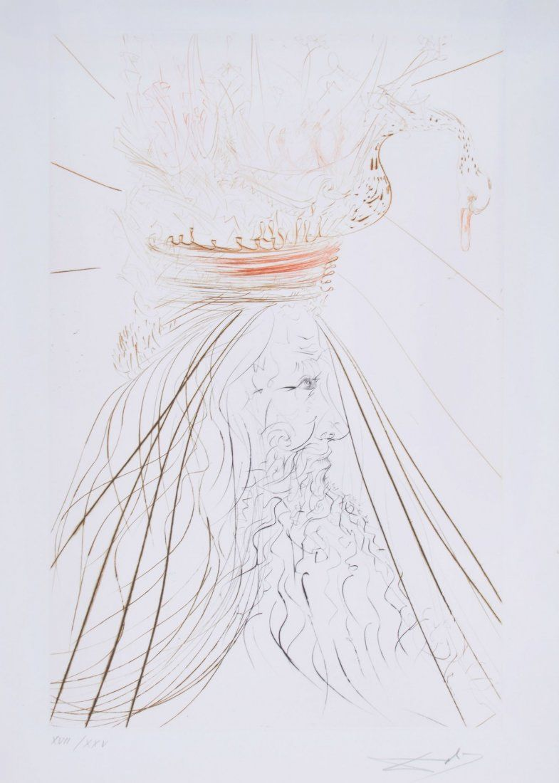 Salvador Dalí (1904-1989) - Le Roi Marc (M.&L.407)
