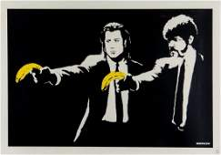 Banksy (b.1974) - Pulp Fiction