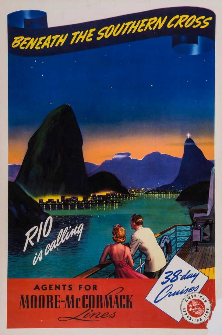ANONYMOUS - RIO CALLING, American Republics line