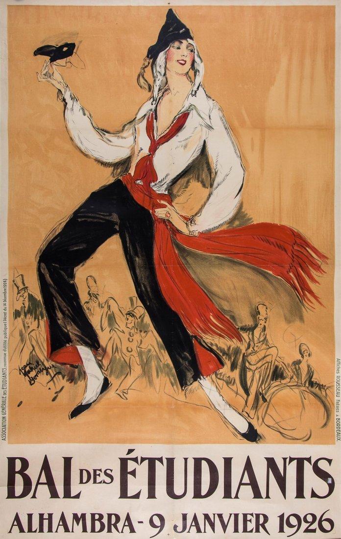 DOMERGUE, Jean-Gabriel (1889-1962) - BAL des