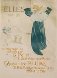 TOULOUSE-LAUTREC, Henri de (1864-1901) - ELLE